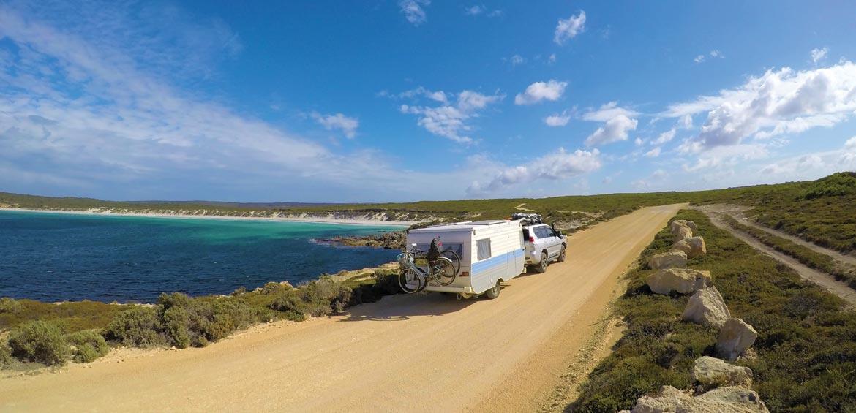 Camping road trip families