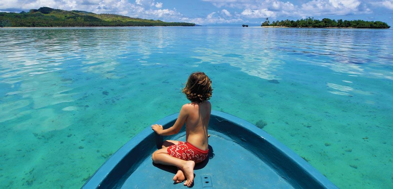 Jean-Michel Cousteau five star fiji resort