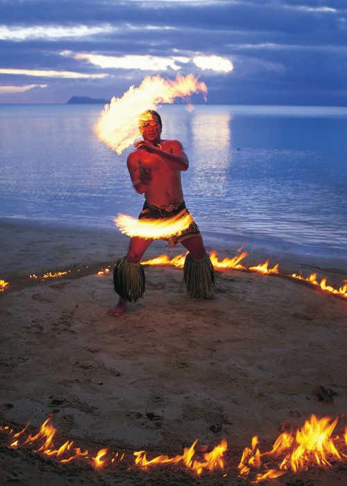 samoa fire dancer