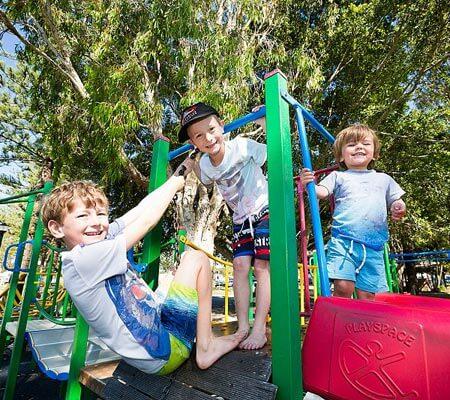 Tallebudgera Creek Tourist Park playground