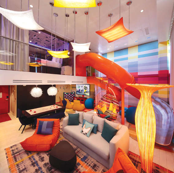 Themed family suites: Symphony of the Seas