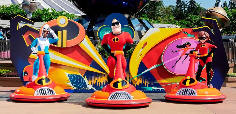 The Incredibles at Hong Kong Disneyland