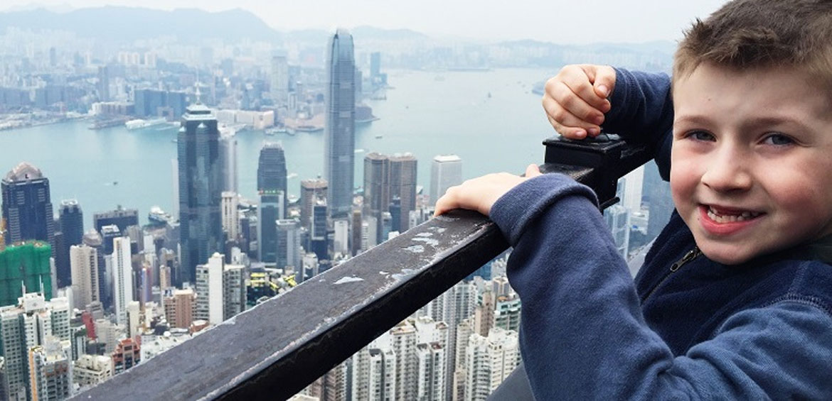 Victoria Peak, Hong Kong - things to do in hong kong with kids