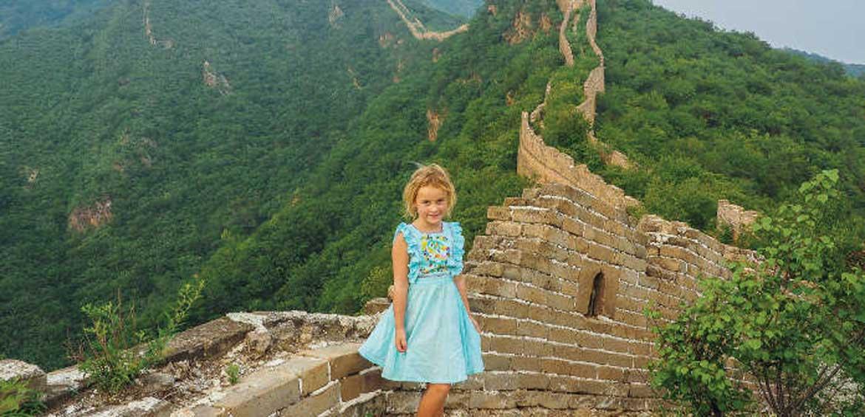 China with mumpacktravel great wall