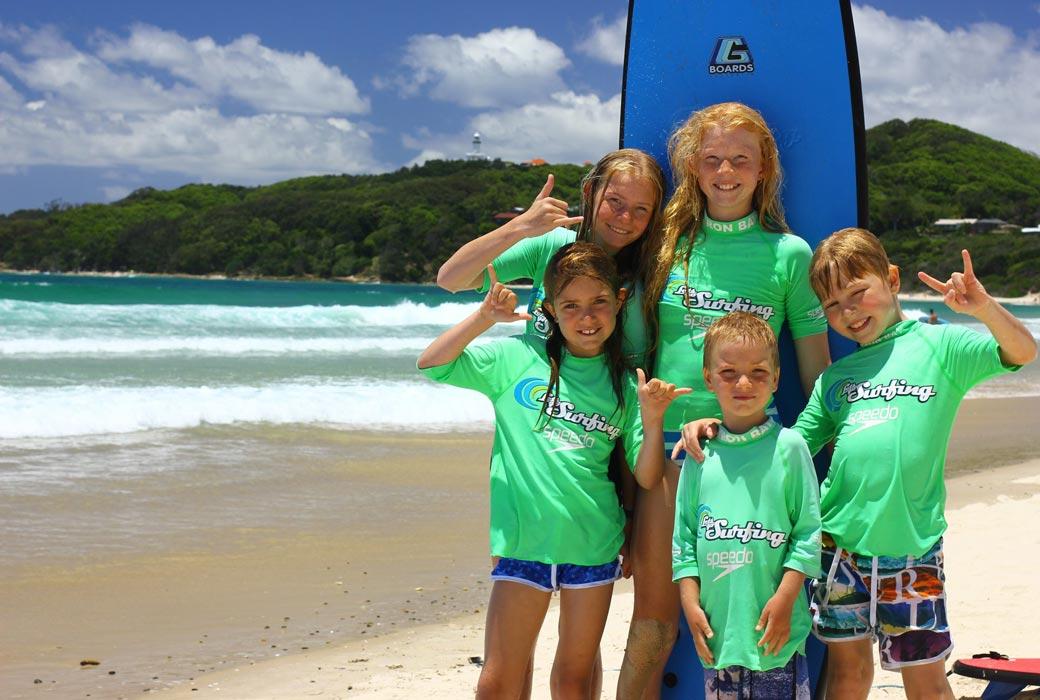 Byron Bay with kids