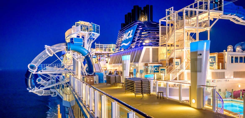Norwegian Cruise Lines Norwegian Bliss family cruise ship
