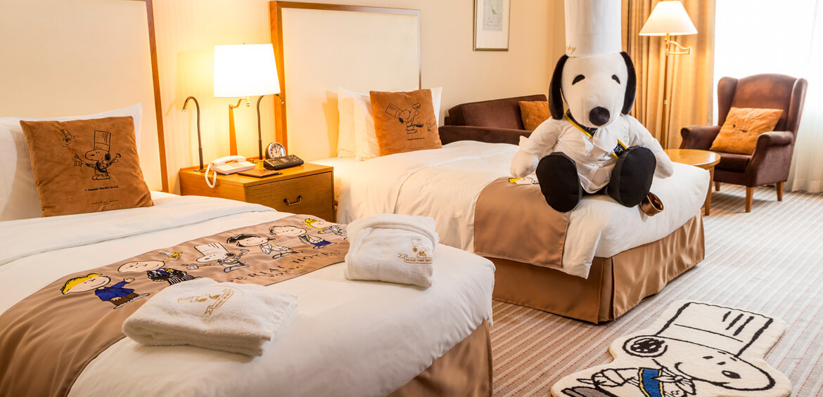 Japan family accommodation: Snoopy Room