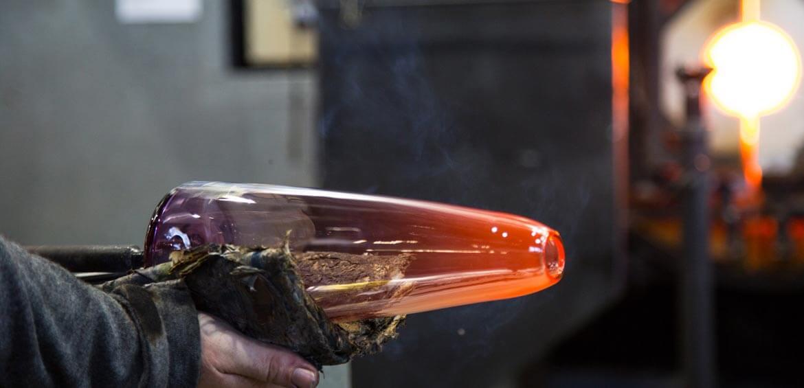 Canberra Glassworks commission piece