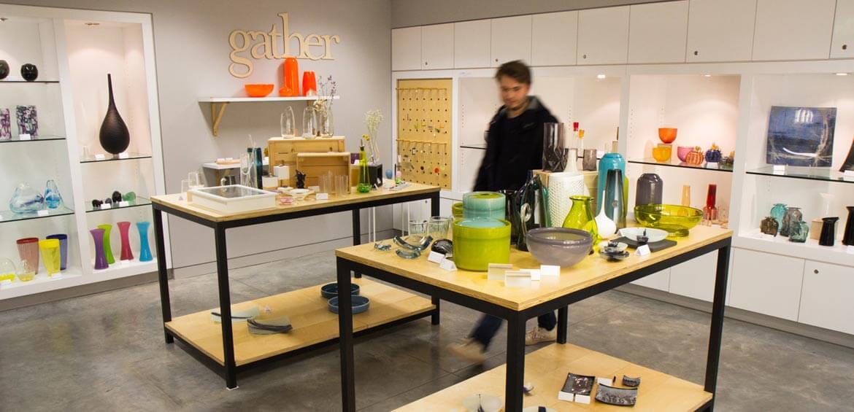 Canberra Glassworks gift shop