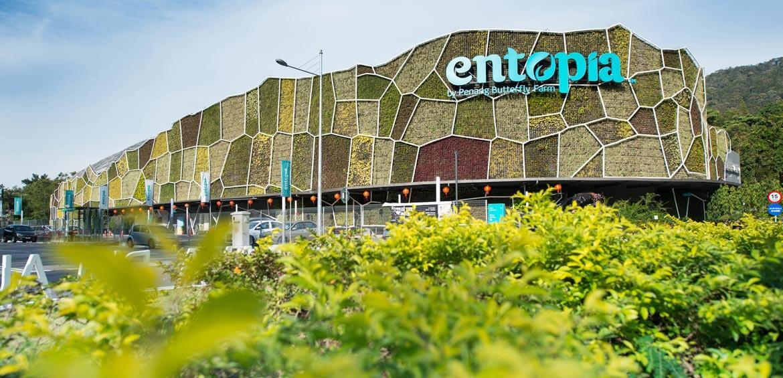 Entopia by Penang Butterfly Farm facade