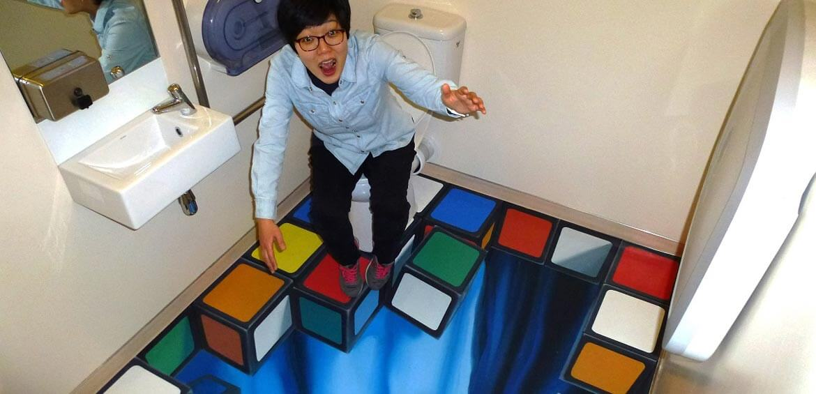 Falling cubes, Puzzling World