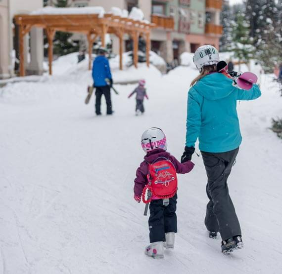 Family fun at Sun Peaks, British Columbia
