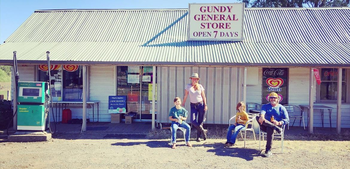 Gundy General Store in the Upper Hunter