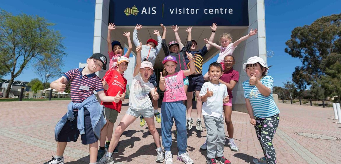 Kids day out at the Australian Institute of Sport