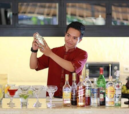 Personal Bar Tender at Impiana Private Villas Seminyak