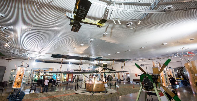 Qantas Founders Museum exhibiton