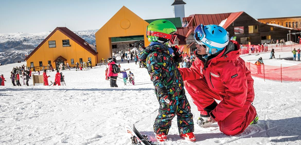 Ski lessons on NZ Snow Tours