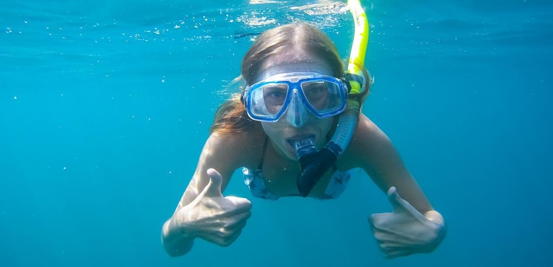 Snorkelling in Bali, Peregrine Adventures