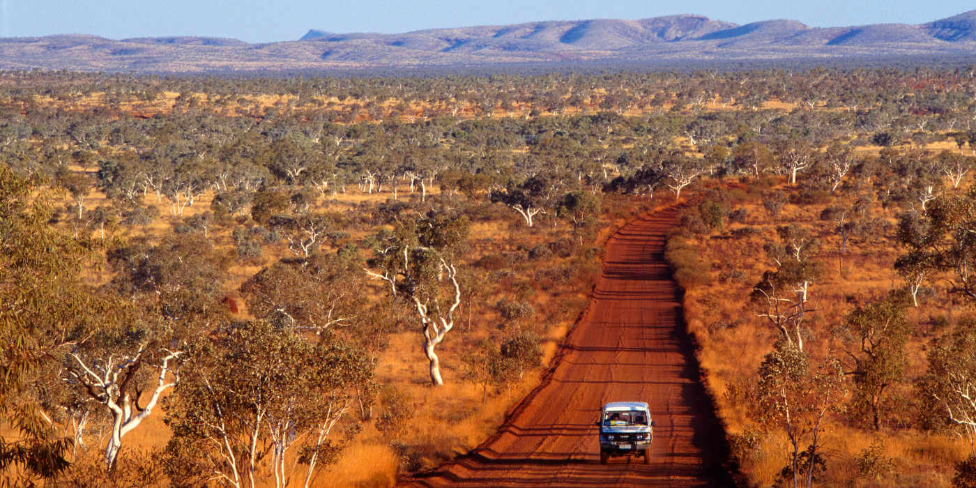 4WD in Western Australia at Ninghan Station