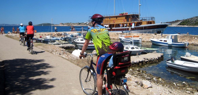Croatia family bike ride with Outdoor Travel