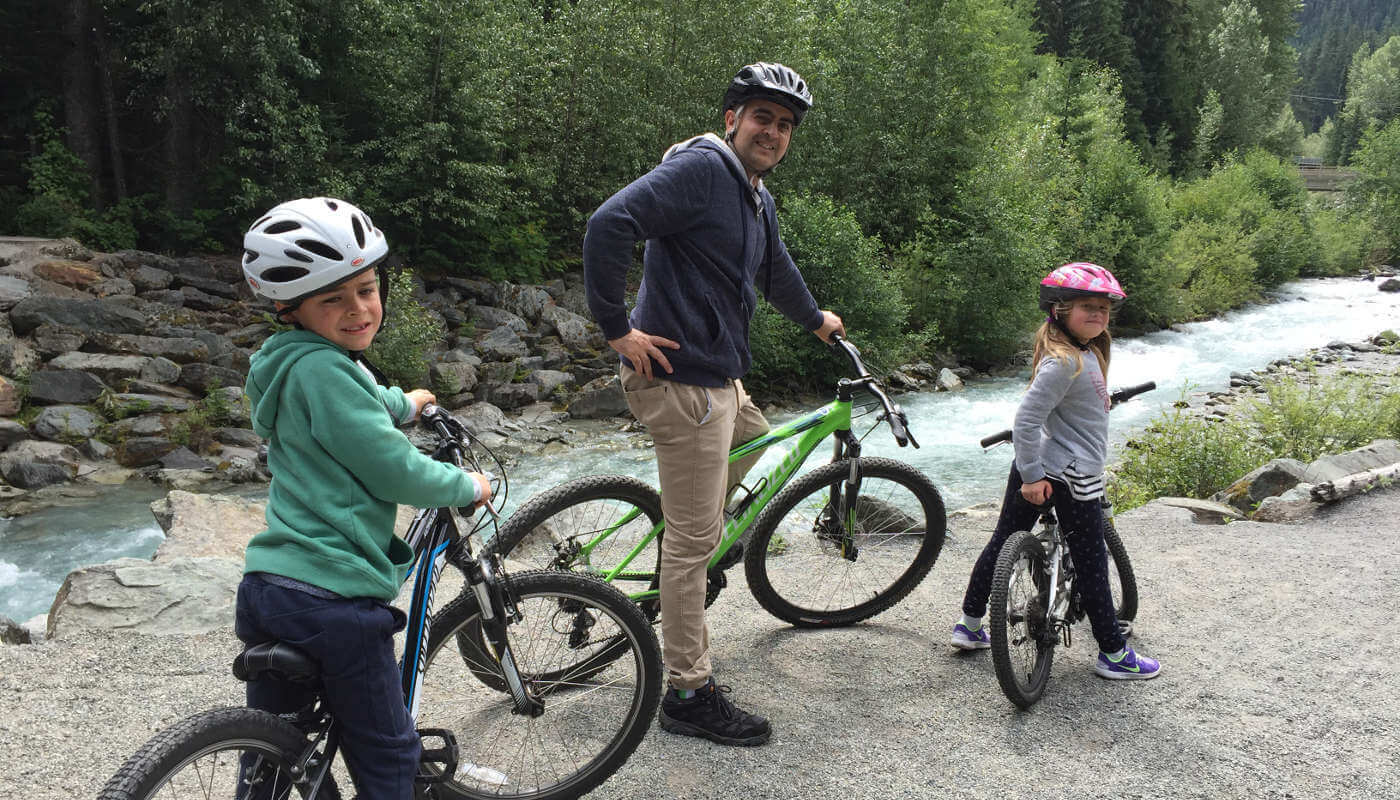 Cycle in Whistler