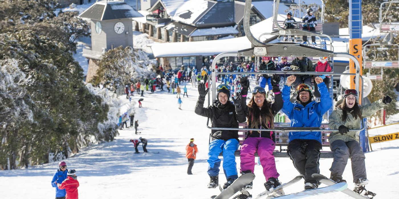 Mt Buller ski lift