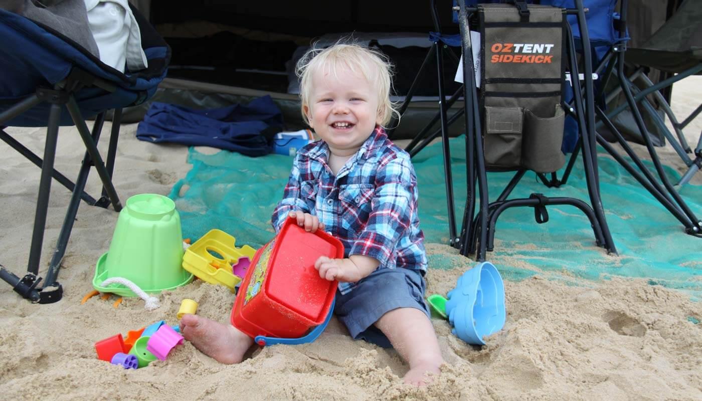 Nine Mile Beach camping