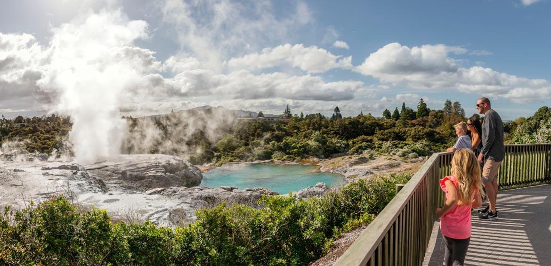 Te Puia Rotorua, New Zealand Travel Organiser