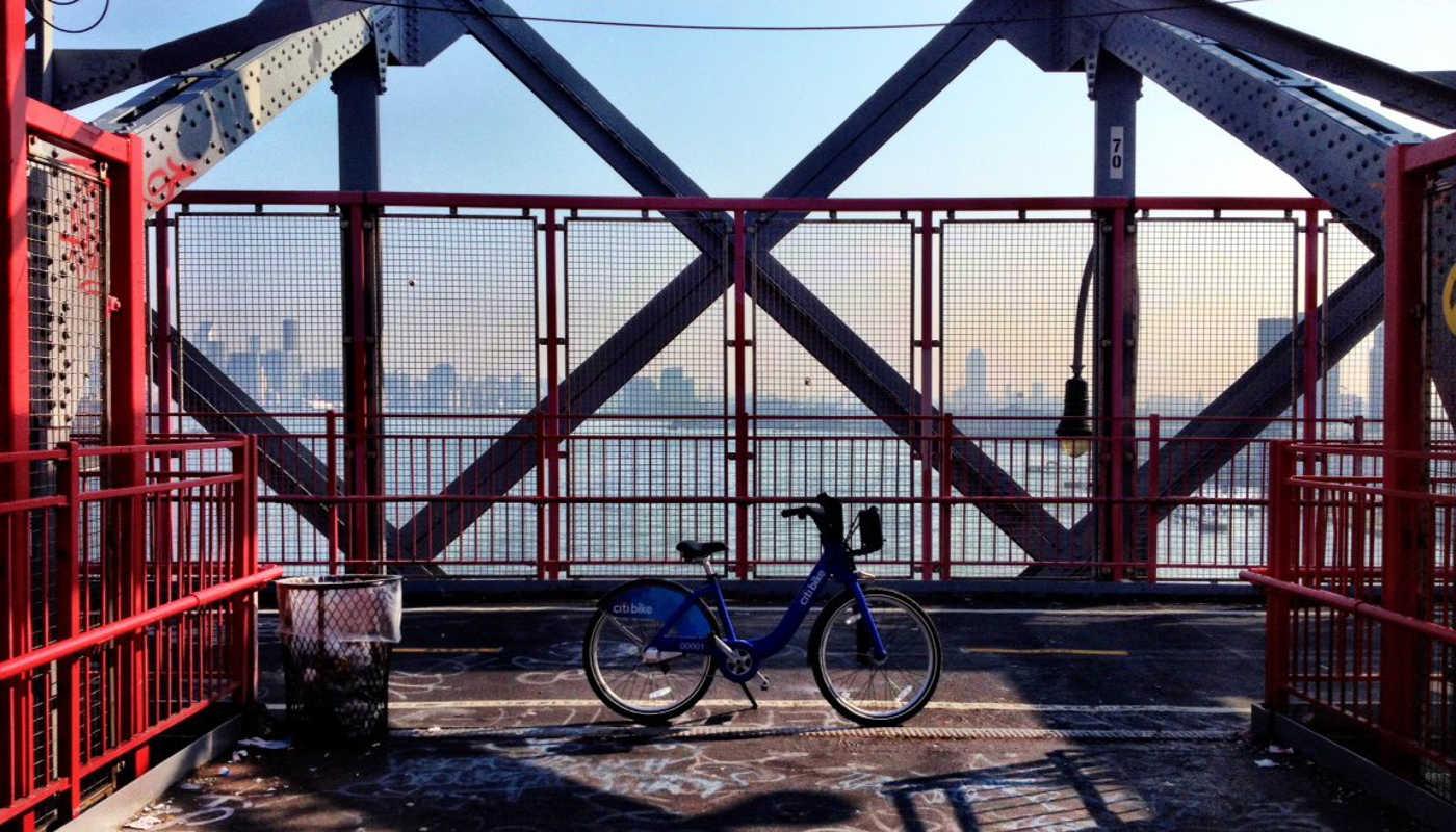 Bike in New York
