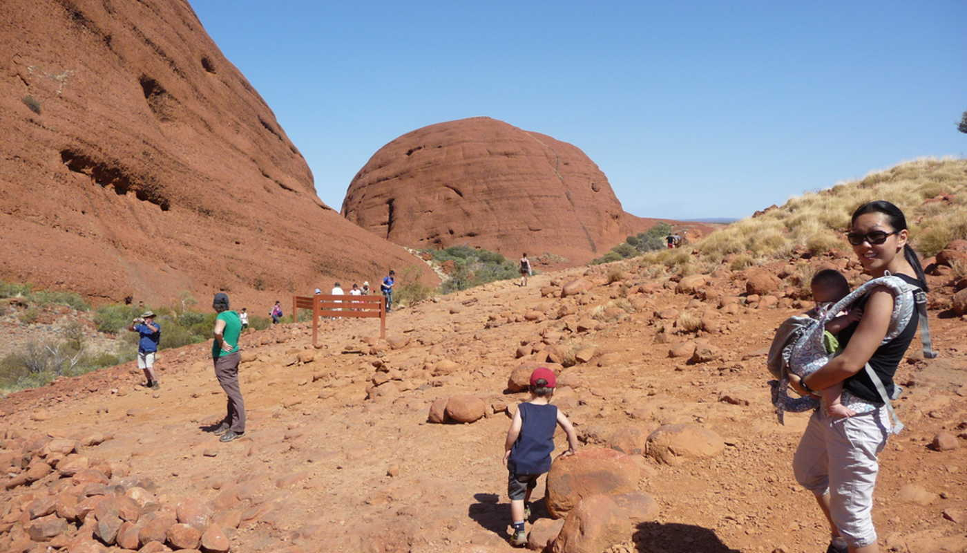Explore Uluru with the kids