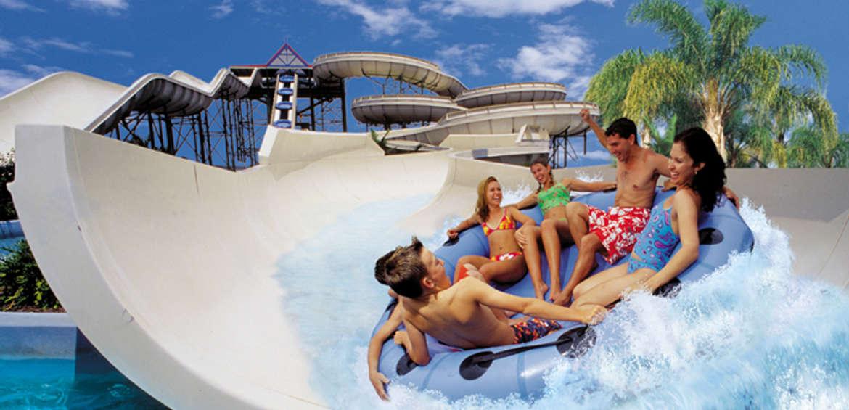 Gold coast theme parks: wet n wild