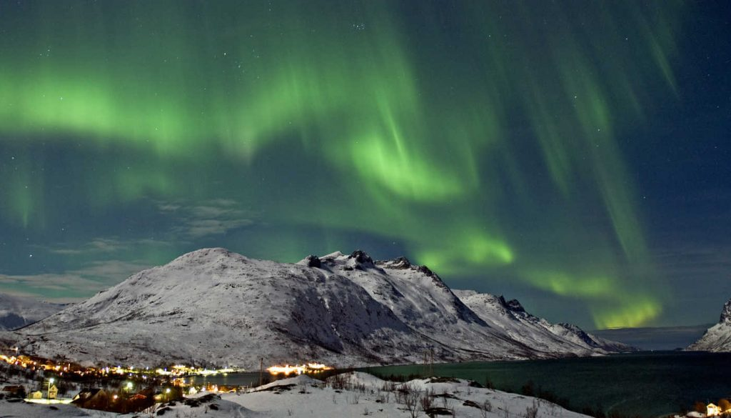 Aurora Borealis, Northern lights in Norway 2022 holiday