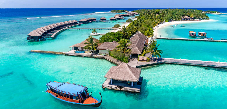 Sheraton Full Moon Resort and Spa Maldives - external aerial