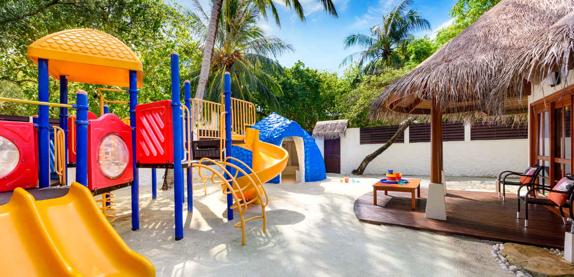 Sheraton Full Moon Resort and Spa Maldives kids playground