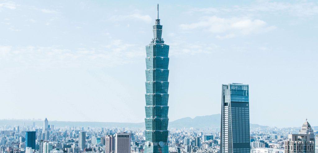 taipei101, Skyscraper in Taipei, Taiwan