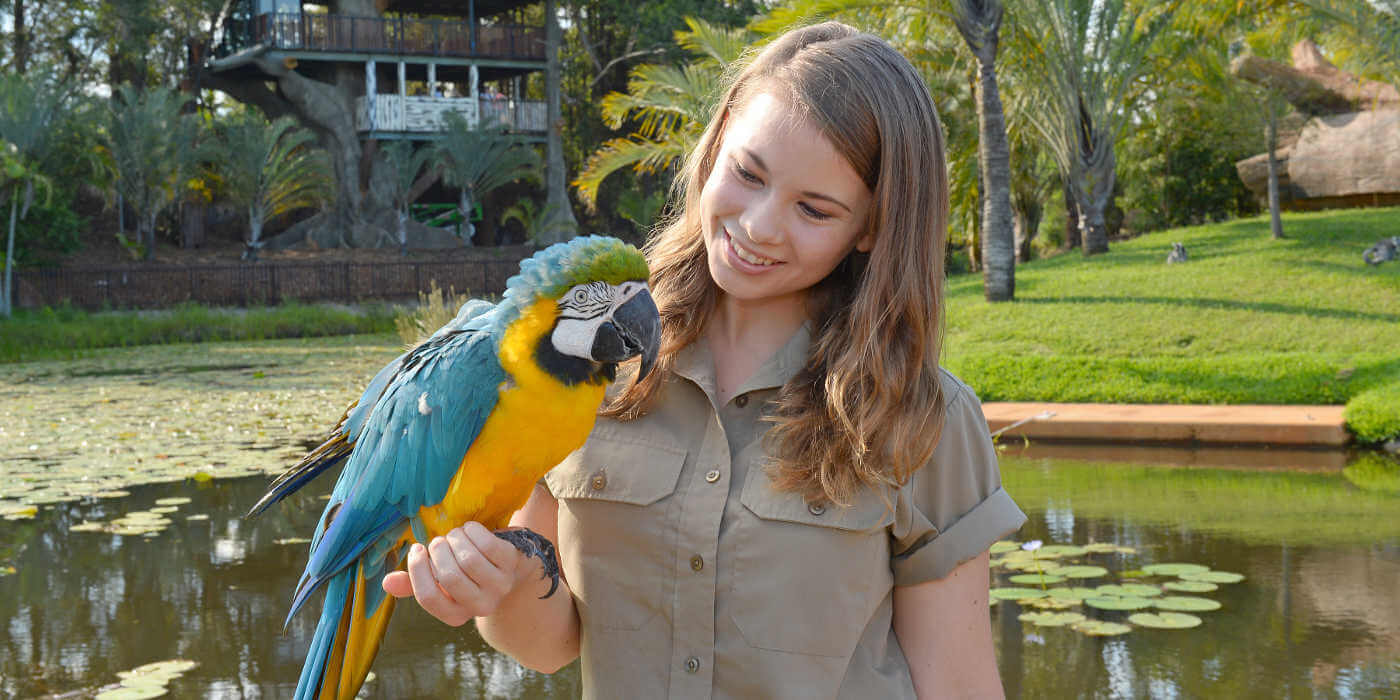 Our Kid Editor chats with Bindi Irwin about life in a zoo