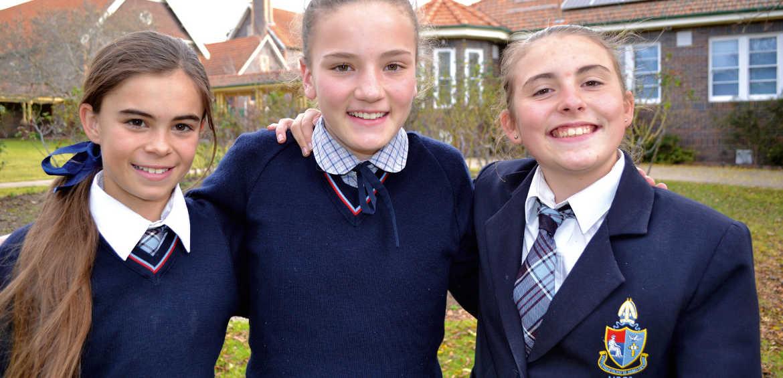 Bronte and classmates equine school new england