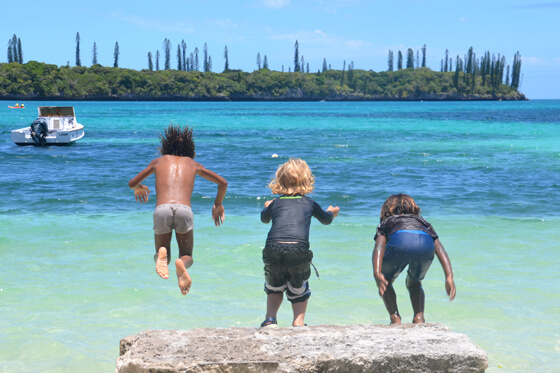 New Caledonia's Isle of Pines is a blue-water paradise