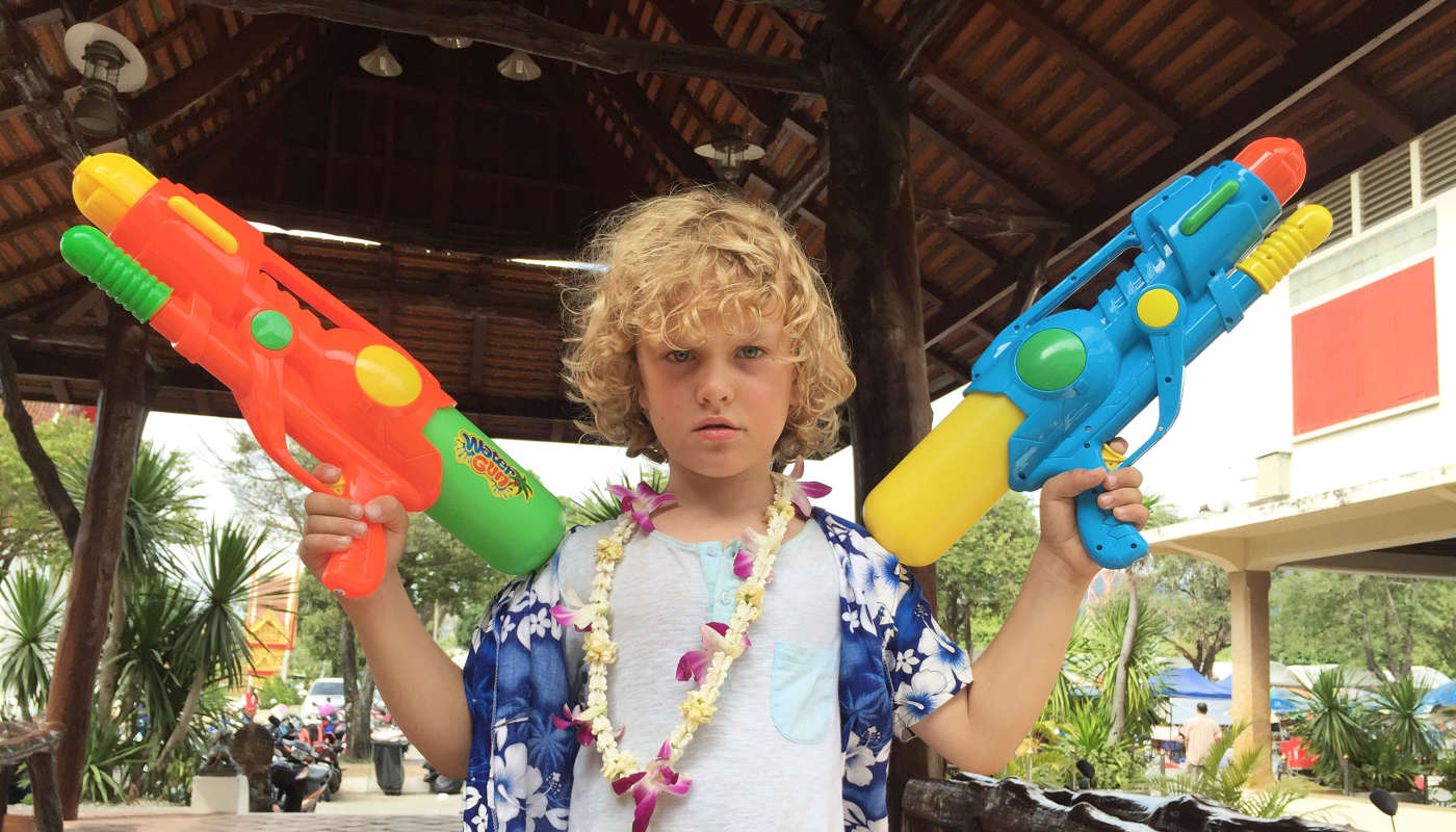 Raff means business in Phuket