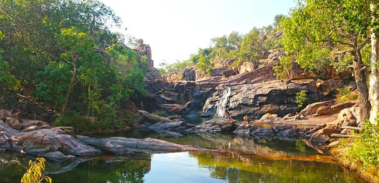 Rock pool at Kakadu Gunlom Falls