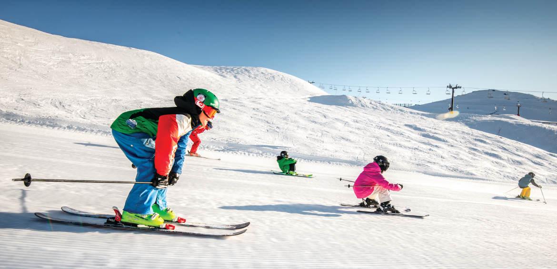 Skiing Cardrona