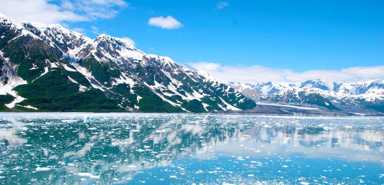 A crisp blue day in Alaska