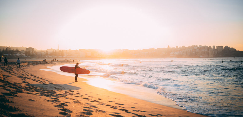 surfing beaches australia