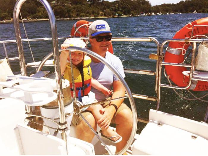 Setting sail at Gippsland Lakes, Victoria