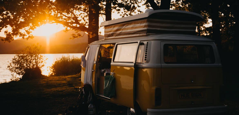 kombi road trip camping