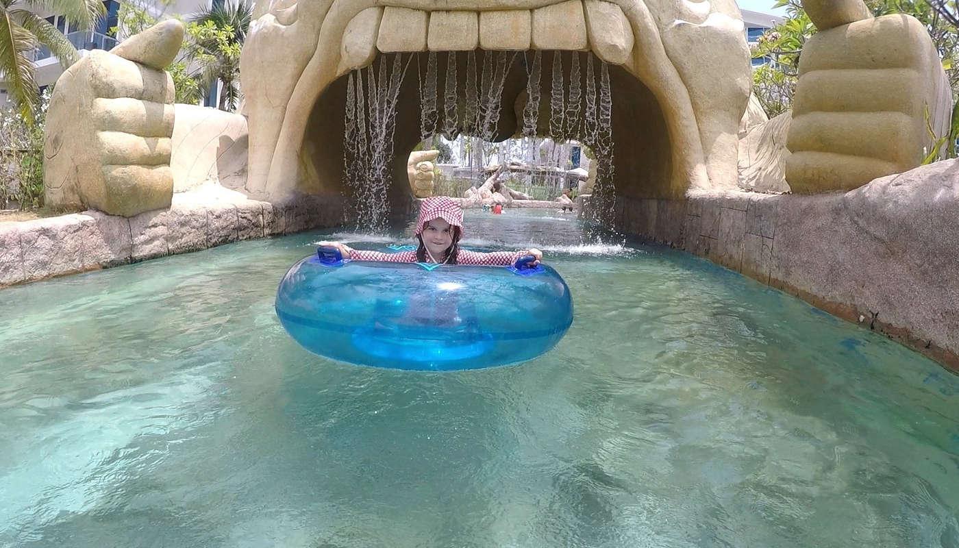 swimming fun in phuket