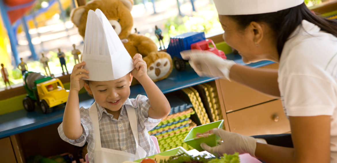 Cooking classes at the Westin Resort Nusa Dua bali kids clubs