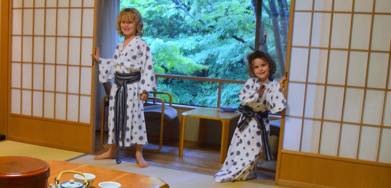 Rocking the ryokan