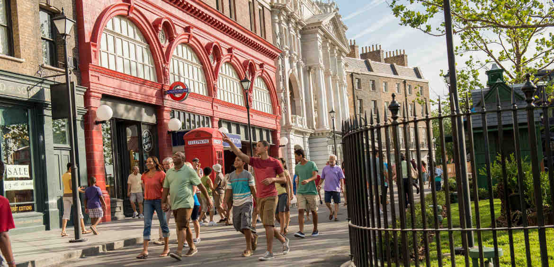 Stolls down Diagon Alley © Universal Studios Orlando