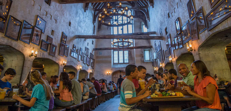 The Leaky Cauldron © Universal Studios Orlando